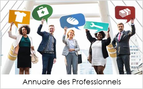 Visuel bouton Annuaire des ProfessionnelsMairie de Launac
