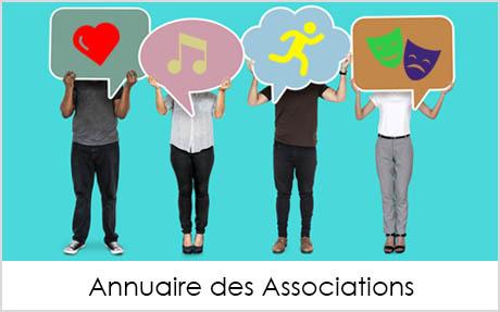 Visuel bouton Annuaire des Associations Mairie de Launac