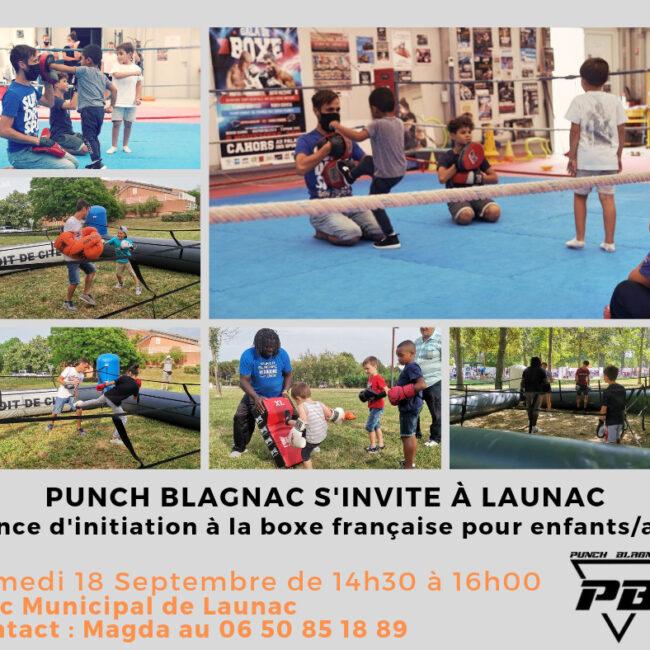 Initiation de la Savate boxe française