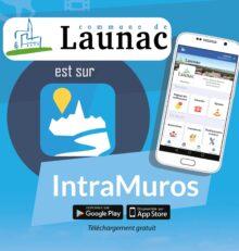 Launac sur l'application IntraMuros