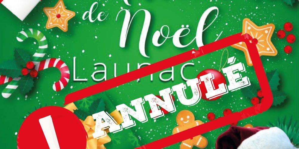 Marché de Noël annulé