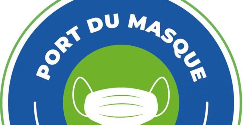 Masque obligatoire au marché de Launac