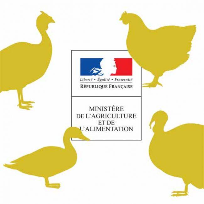 Arrêté préfectoral déterminant une zone de contrôle (10km) autour de Grenade suite à une suspicion de grippe aviaire sur une exploitation
