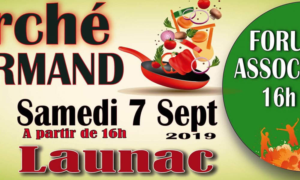 Marché Gourmand & Forum de Associations